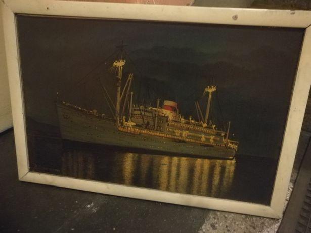 Obraz olejny format a3