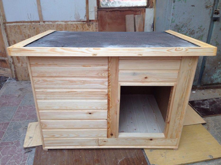 Утепленная будка для собаки из натурального дерева Харьков - изображение 1
