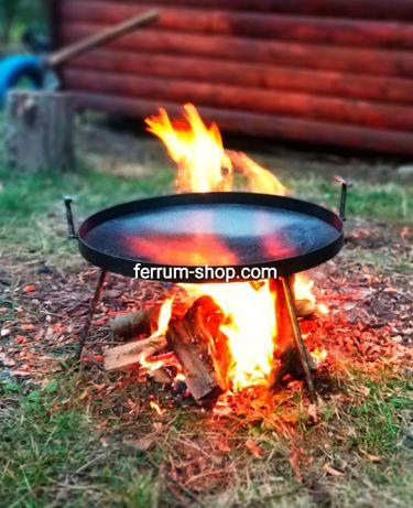 сковорода из диска ОПТ и розница, жаровня, садж 30,40,50,60,70,80см