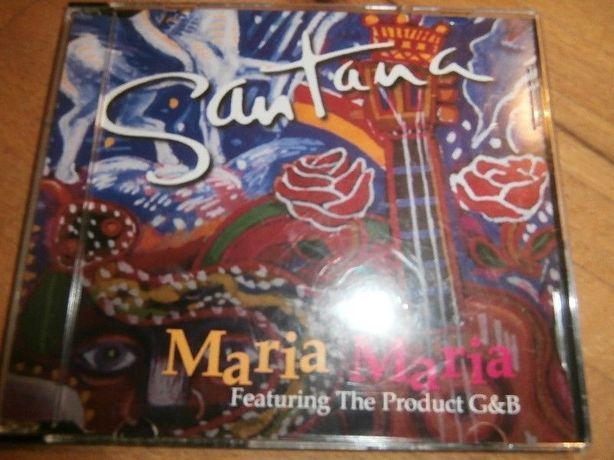 Santana - Featuring Produkt G & B - Maria Maria cd