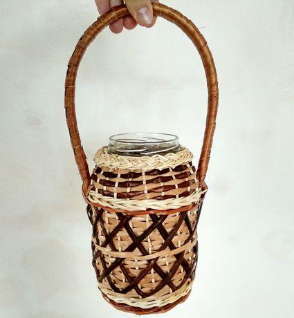 Плетені баночки для освячення води опт/роздріб