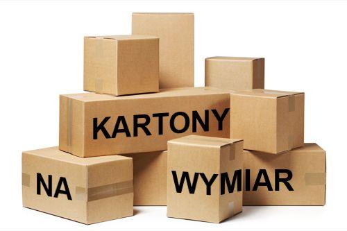 Kartony na wymiar, na zamówienie, od 1 szt., nowe