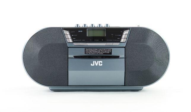Boombox JVC RC-D327B DAB/FM Bluetooth; Gwarancja 13 miesięcy, FV.