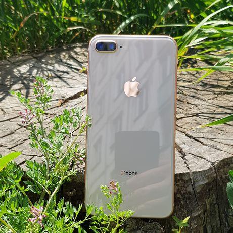 iPhone 8 plus + 64gb gold neverlock. Идеал!