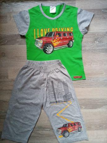 Пижама на мальчика 3-5 лет