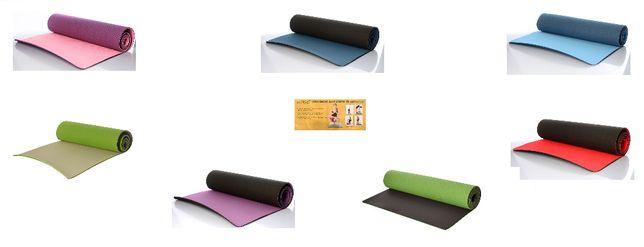 Коврик для йоги,стретчинга,фитнеса и асан. Материал-ТРЕ