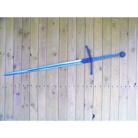 miecz dwuręczny - replika, kuty ręcznie, produkt polski