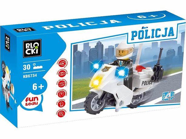 Klocki BLOCKI - POLICJA 30el. KB6734