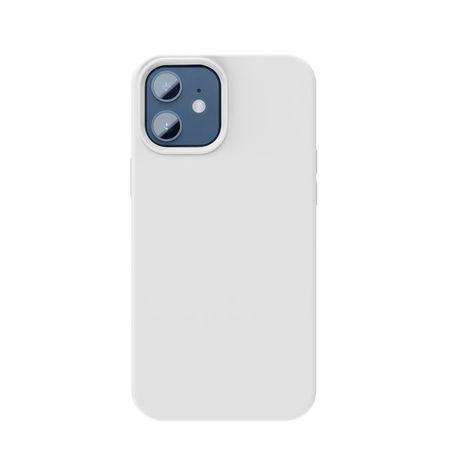 Capa Silicone Baseus Iphone 12 Mini - Branco