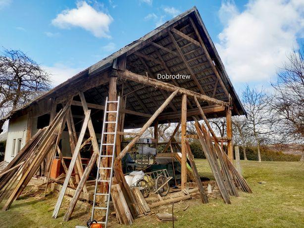Skup stodół stodoły starych desek drewna rozbiórki rozbiórka stodola