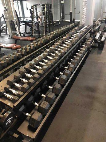 Hantle Hex Zestaw 2.5 kg - 25 kg