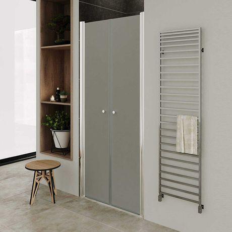 Porta de duche - DTF 195 cm (vidro fosco)