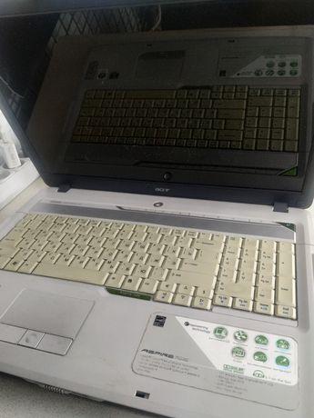 На запчасти ноутбук