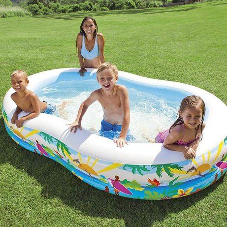 Детский надувной бассейн Intex 56490 Райская лагуна