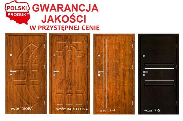 Drzwi wzmocnione wyciszone montaż i pełne wyposażenie w cenie
