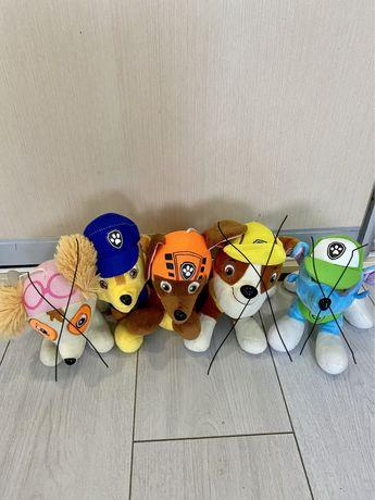 Мягкие игрушки Щенячий патруль состояние новых