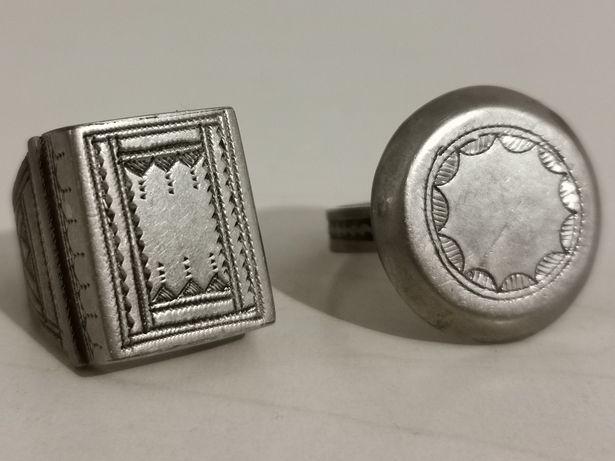 2 Anéis, Adornos, artesanato Marrocos