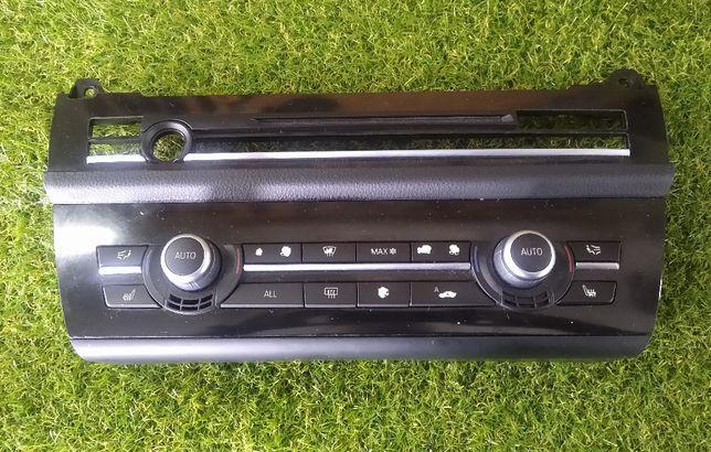 BMW 5 F10 F11 Panel sterowanie radia klimatyzacji
