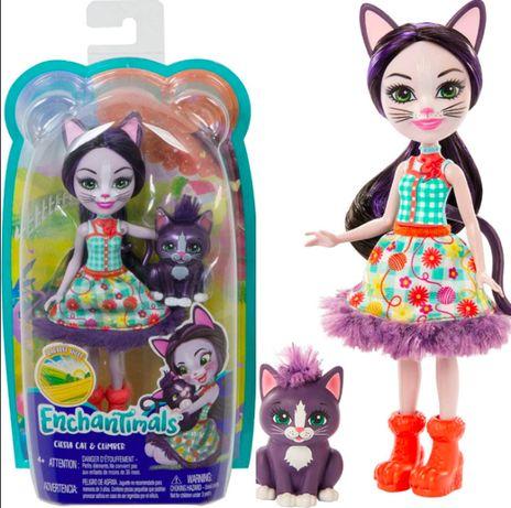 Кукла Энчантималс Кошечка Сиеста и Клаймбер Enchantimals Ciesta Cat Do