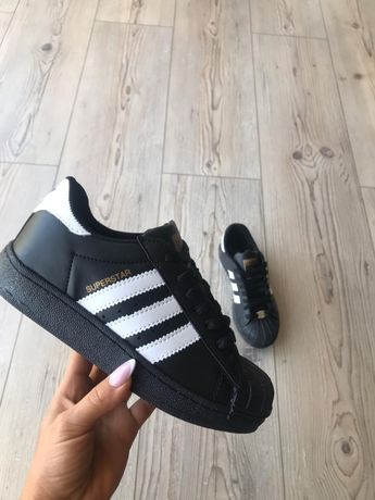 Czarne damskie obuwie adidas super star 36,37,38,39,40 . Hit