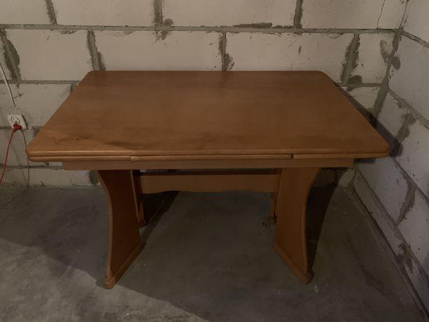 Stół drewniany rozkaldany