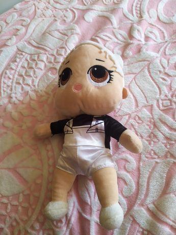 Продам   куклу  лол мягкую, леди баг