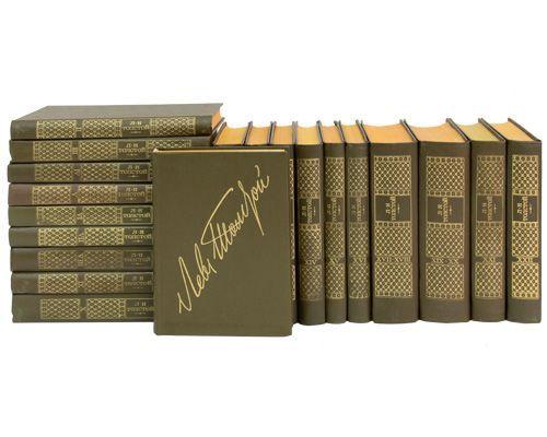 Книги Толстой Л.Н. собрание сочинений 22 тома за 1500 руб