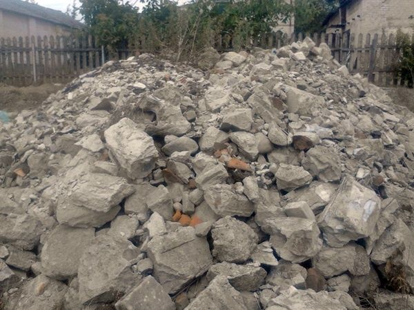 Gruz betonowy