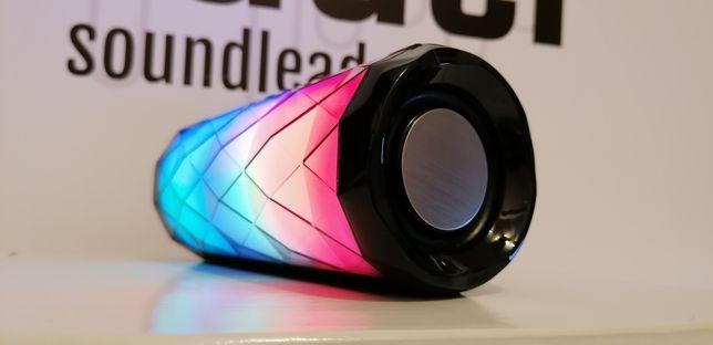 LED głośnik bluetooth bezprzewodowy z radiem i odtwarzaczem mp3