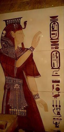 Płyty gipsowe ozdobne- wzór Faraon za darmo