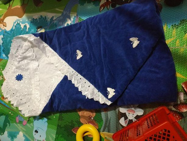 Продам конверт-одеялко для мальчика