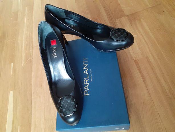 Туфли Италия.кожа натуральная, цвет чёрный