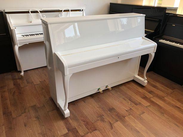 Pianino biale Sauter 108