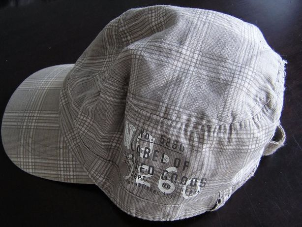Czapka z daszkiem kaszkiet H&M rozmiar 80, 9-12 m-cy, obwód 48 cm