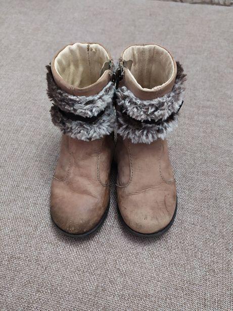 Осенние сапоги ботинки Primigi натуральная кожа