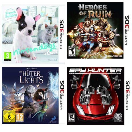 Игры для Nintendo 3DS ® Европа. 600 грн. за все 4 шт. вместе + подарок