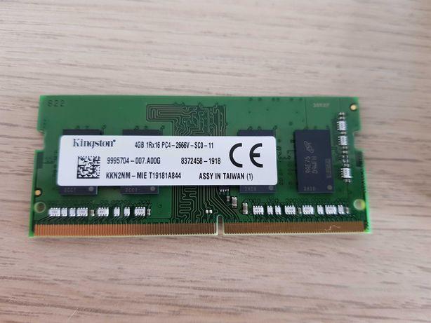 KINGSTON RAM DDR4 4GB 2666MHz 1RX16 PC4-2666V SC0-11