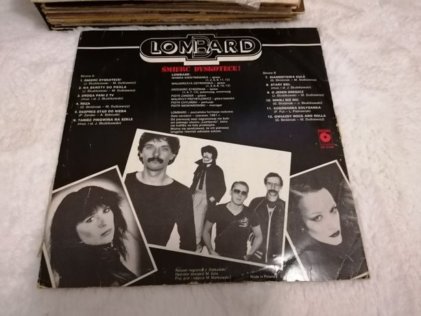 Płyta winylowa Lombard Śmierć Dyskotece