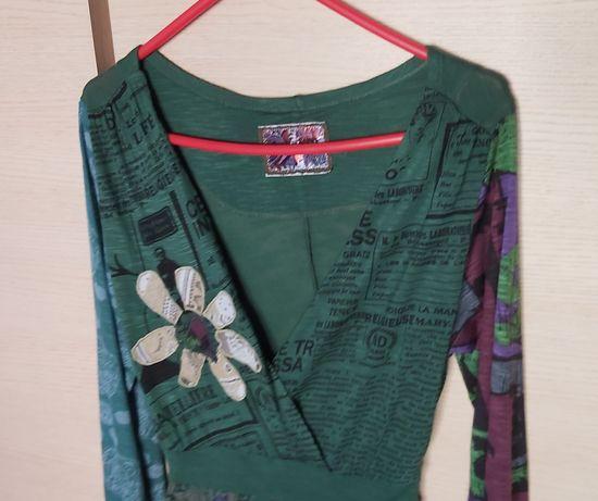 Desigual bluzka - tunika M/L