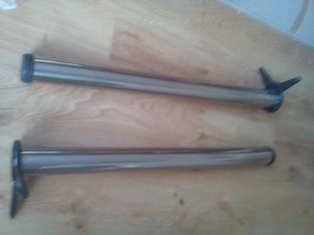 nogi metalowe NOWE 2 szt