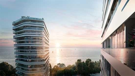 В продаже 2 комн. апартаменты с прямым видом моря по хорошей цене.