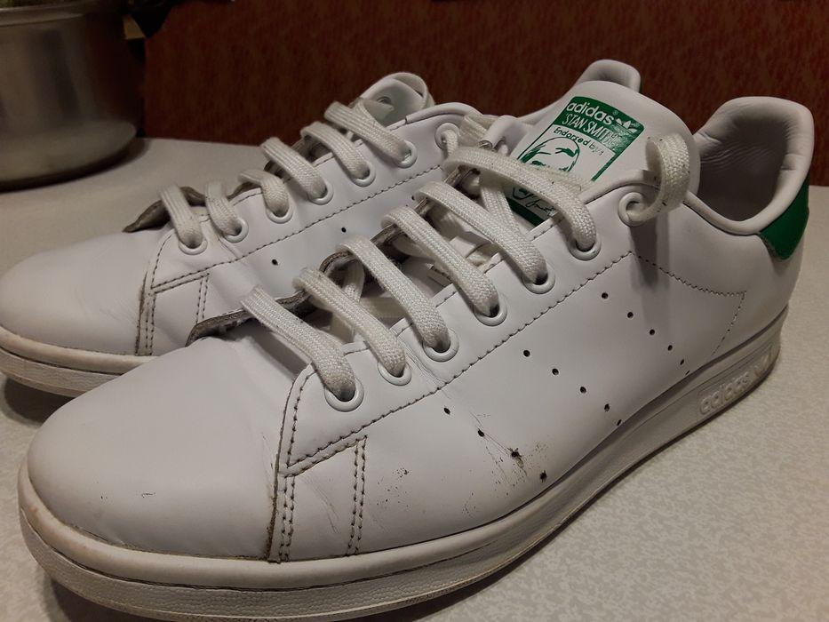 Кроссовки кожаные Adidas Stan Smith 44-45 р 28,5 см Черкассы - изображение 1