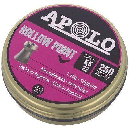 Śrut Apolo Hollow PointExtraHeavyGEN-2 5.5mm250szt