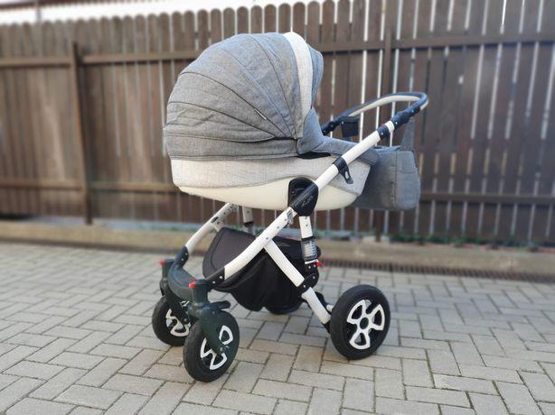 Adamex Barletta spacerówka + gondola+akcesoria i parasolka