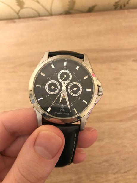 Мужские швейцарские часы Continental 1362-SS158