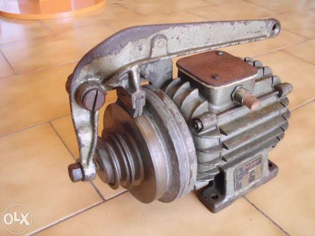 Motor de maquina de costura e gaspiar com embraagem e travão
