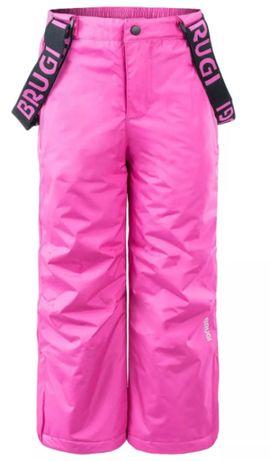 Spodnie dziecięce narciarskie Brugi 3AH9 rozm. 122-128