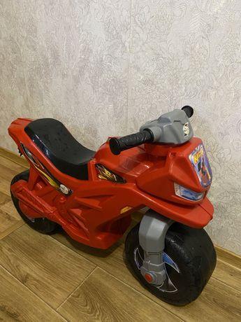 Беговел мотоцикл толокар orion орион