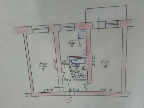Продам квартиру г. Болград, 2-й городок