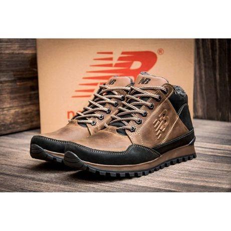 Мужские кожаные ботинки New balance